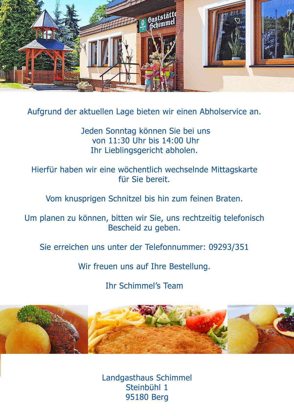 Abholservice - allgemeine Info